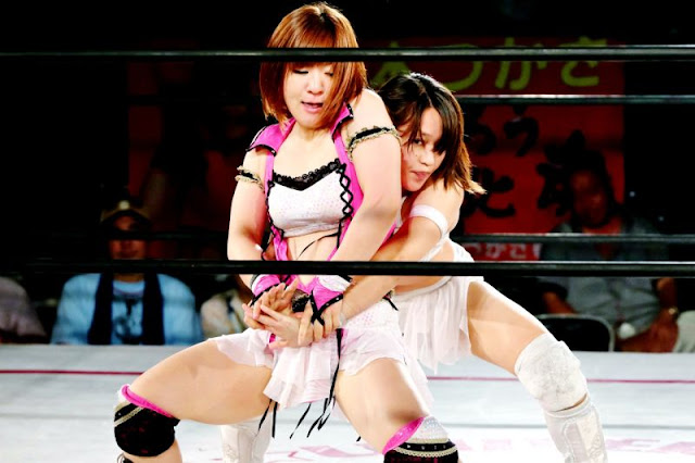 Arisa Nakajima and Syuri - Japanese Women Wrestling