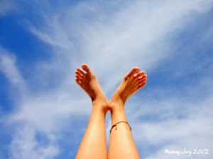 My legs can touch the sky
