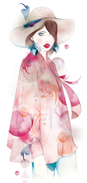 Lovely Watercolor Illustrations