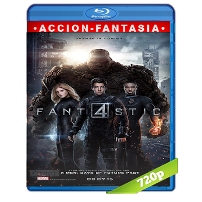 Los 4 Fantasticos (2015) BRRip 720p Audio Trial Latino-Castellano-Ingles 5.1