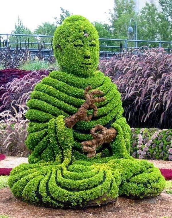 Desain Taman Vihara yang Menarik