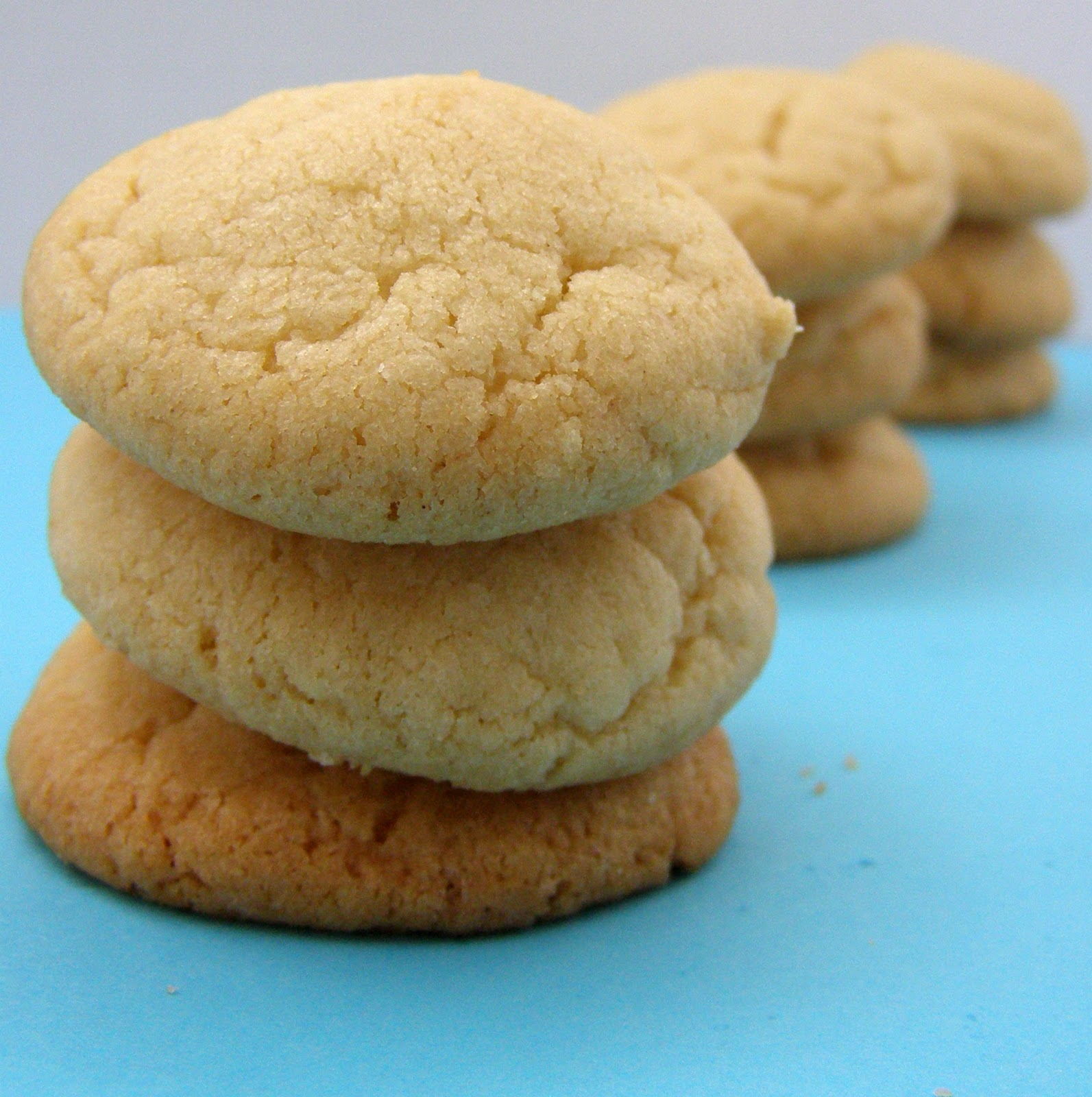 Quick And Easy Sugar Cookies Adapted From Here Serves 24 4 Dozen 48 Cookies 2 3 4 Cups Flour 1 Teaspoon Baking Soda 1 2 Teaspoon Baking Powder