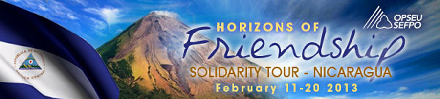 Horizons of Friendship solidarity tour - Nicaragua