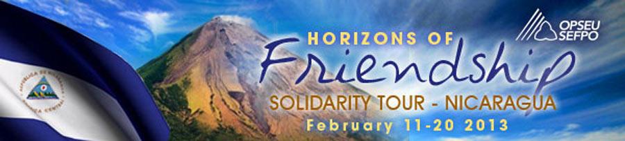 Horizon's of Friendship solidarity tour - Nicaragua
