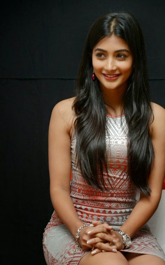 Pooja Hegde at OLK Success Meet Photos