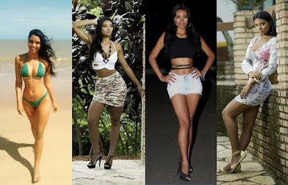 Morena e de um corpo arrasador, a modelo Karinna Souza fala do início da carreira cheio de altos e