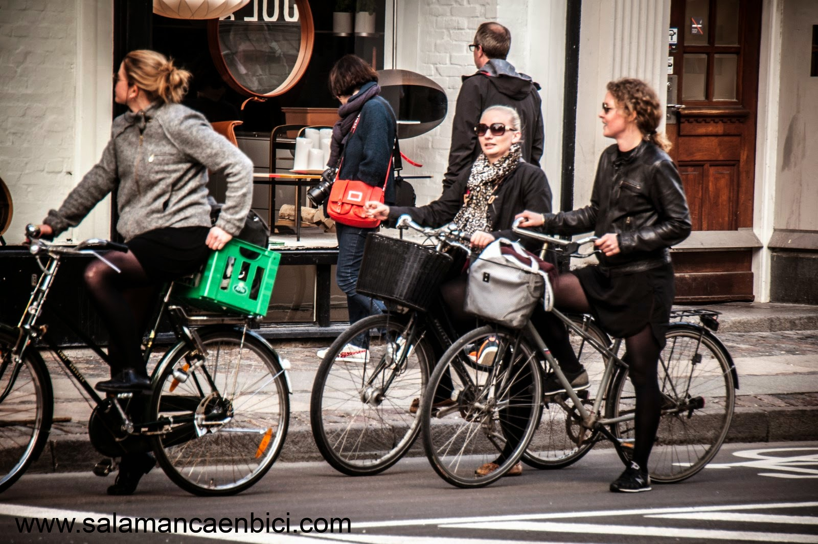 cargo bikes salamanca carril bici