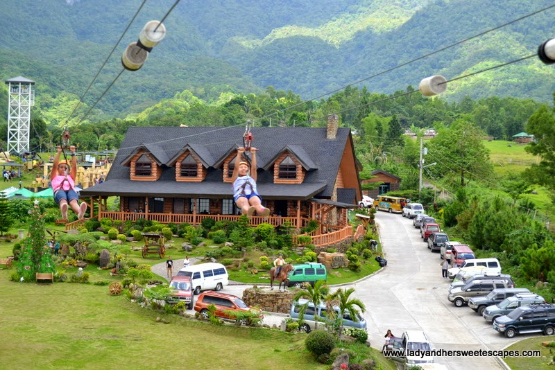 zipline at Campuestohan Highland Resort