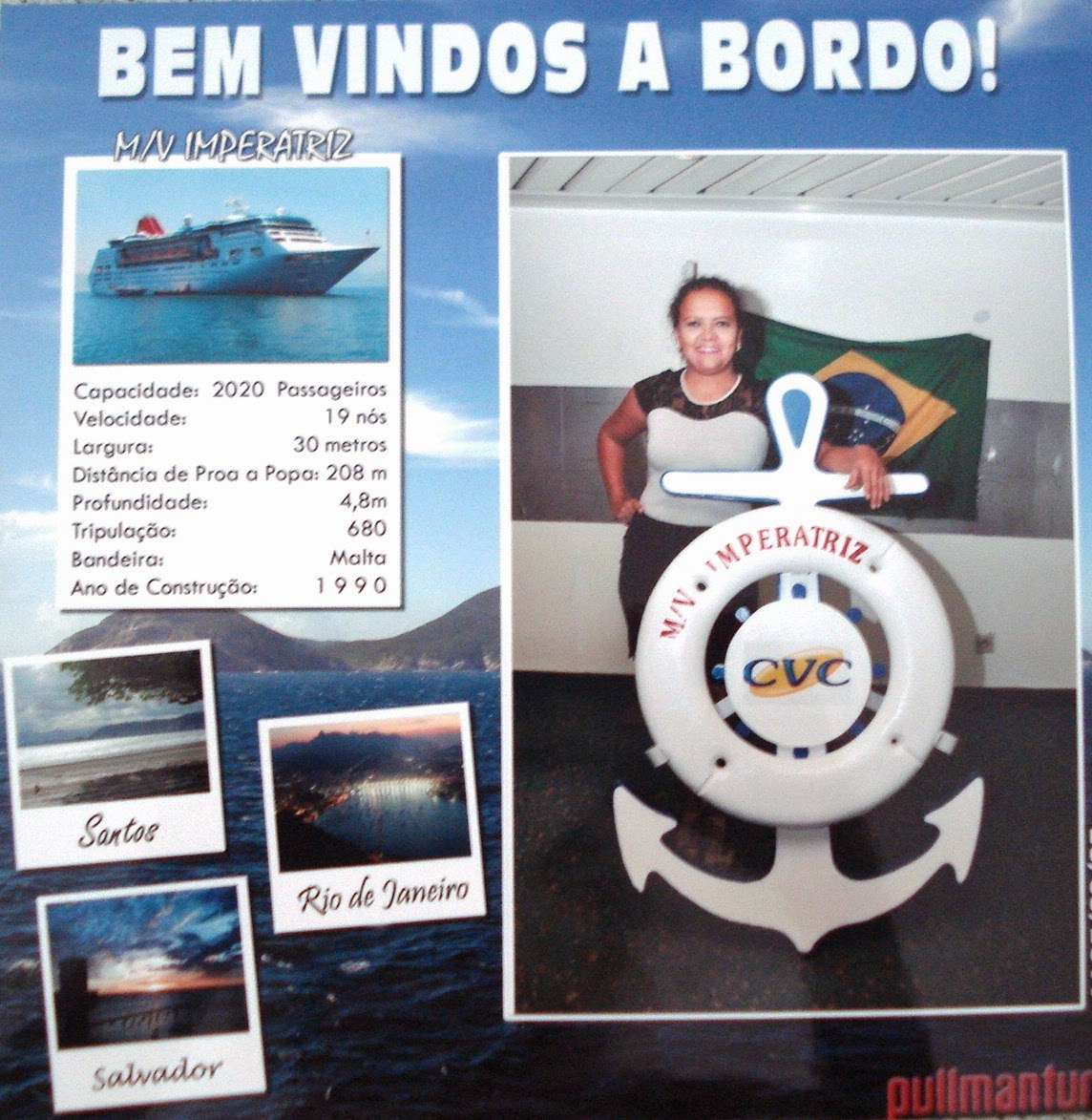 Pulmantur- Santos a Recife