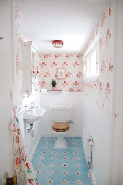 Um banheiro simples e lindo -> Banheiro Simples E Lindos