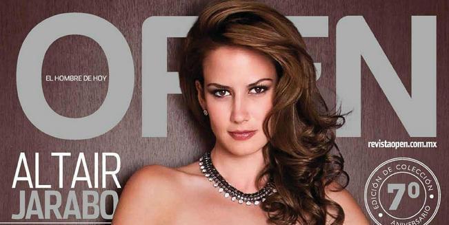 Seys De Altair Jarabo Posando Para Revista Open Diciembre