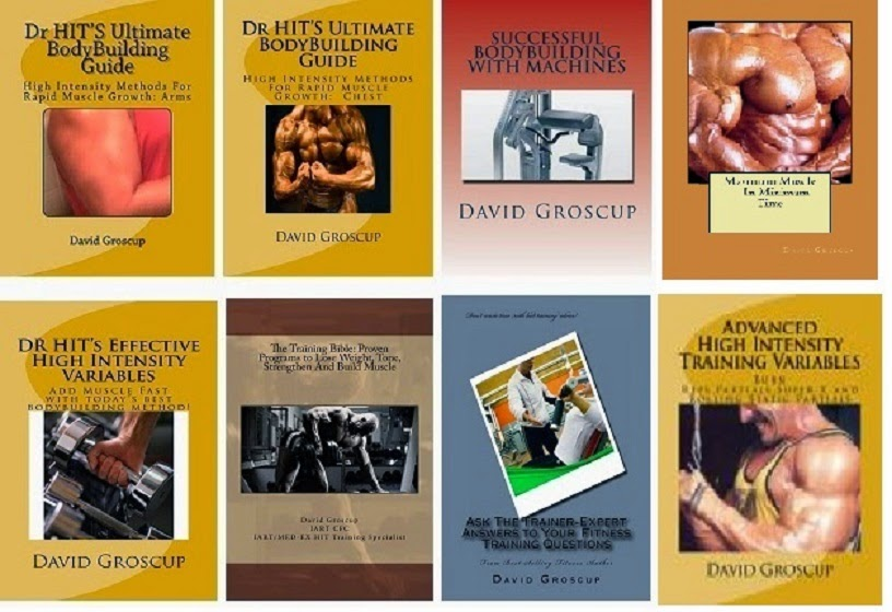 Now Offering My Eight Book Volume On HIT and Volume Bodybuilding Training