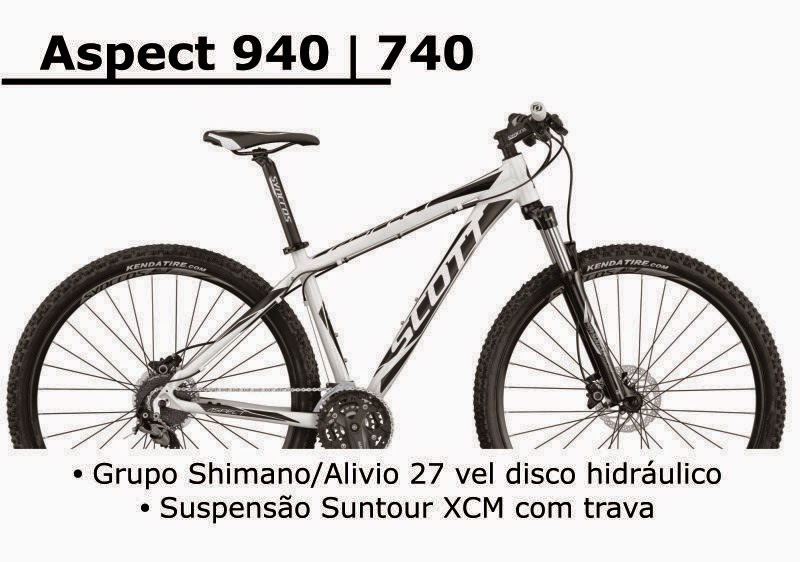 Bicicleta Scott Aspect 940 / 740 2015