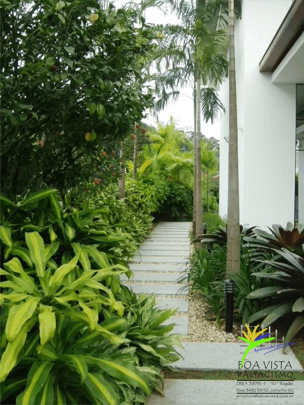 fotos de jardim residencial pequenoJardim Residencial