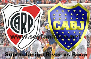 Revancha Boca vs River por Copa Libertadores 2015