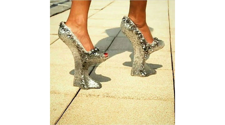 Ladies, Will You Rock This Kind Of Shoes? (Photo)