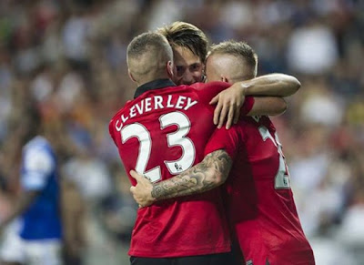 Cleverley_Buttner_Januzaj_Manchester_United_Tour_2013