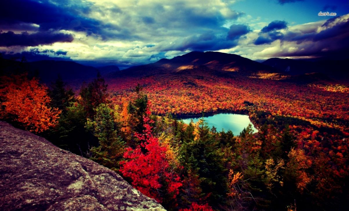 Fall Mountain Desktop Wallpaper   WallpaperSafari