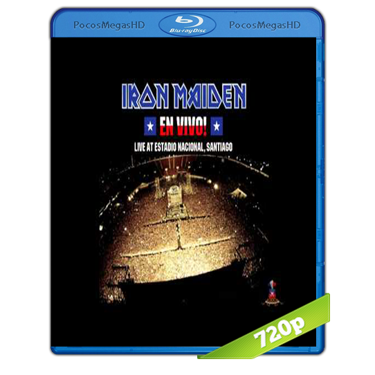 Iron Maiden Live at Estadio Nacional (2012) BrRip 720p Inglés AC3 5.1