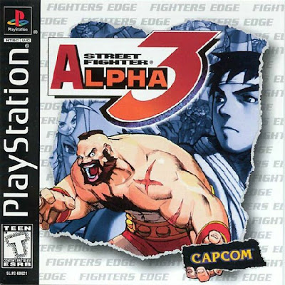 Super Compactado Street Fighter Alpha 3 PS1