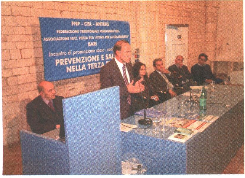 """16-10-2009 Locorotondo: """"PREVENZIONE E SALUTE NELLA TERZA ETA' """""""