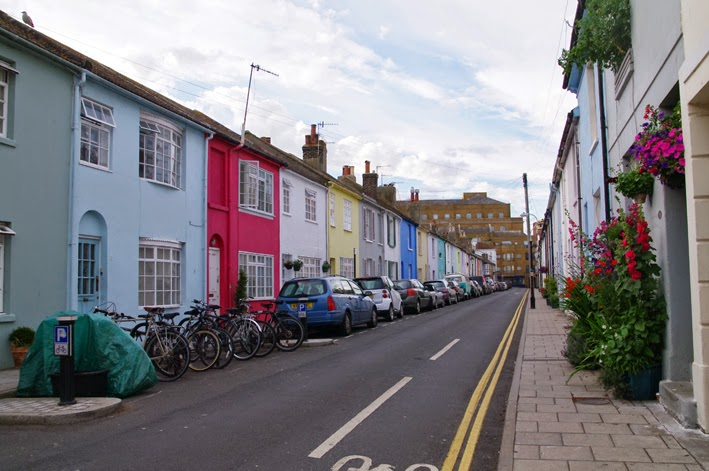 brighton coloured houses