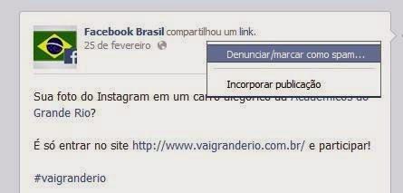 Como denunciar conteúdo no Facebook