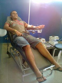 Jovens Missionários sempre solidários: doando vida, doando sangue!