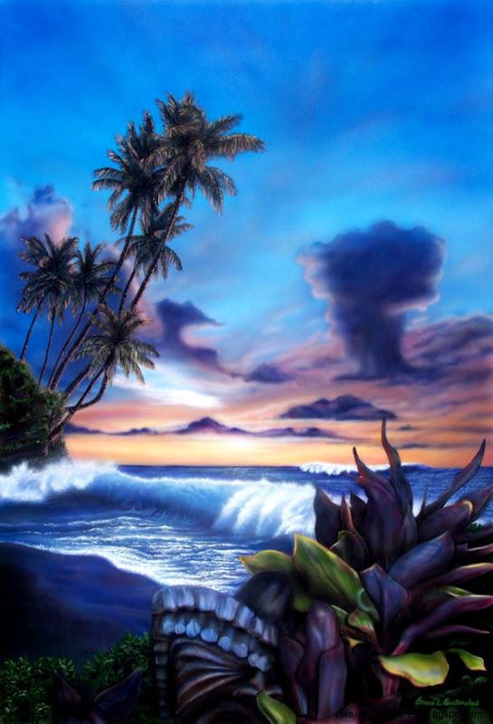 Burtenshaw Gallery of Fine Art   Photo Realistic Hawaiian