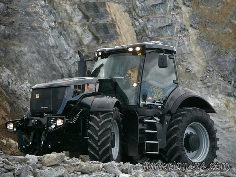 Tractors Farm Machinery Jcb Black Beauty