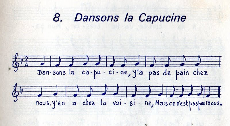 dansons la capucine paroles pdf