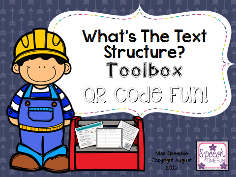 What is the text structure toolbox qr code fun authors often use key words which can help students identify the text structure since i am on a qr code activity kickwhy not create one to work on this stopboris Gallery