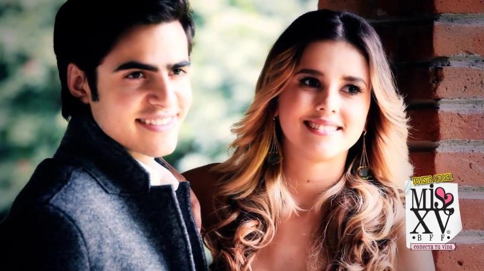 ... Sesión de Fotos de Paulina Goto y Yago Muñoz para la revista Miss XV