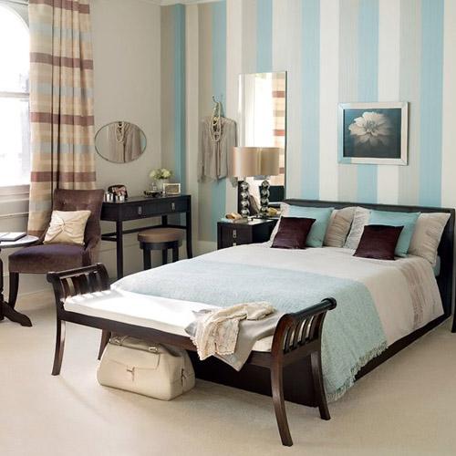 Altura con rayas verticales decorar paredes - Paredes a rayas verticales ...