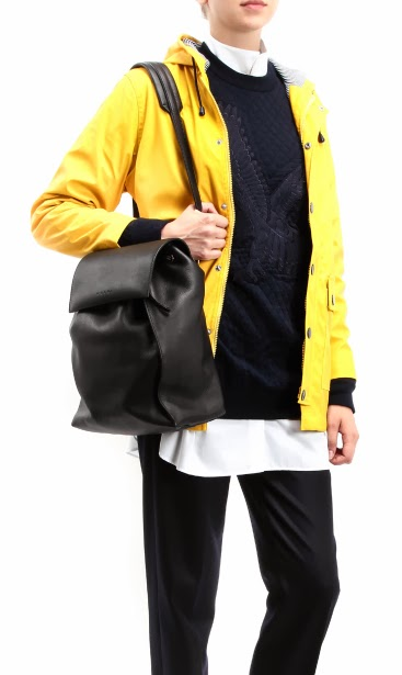 Petit Bateau iconic yellow ciré raincoat