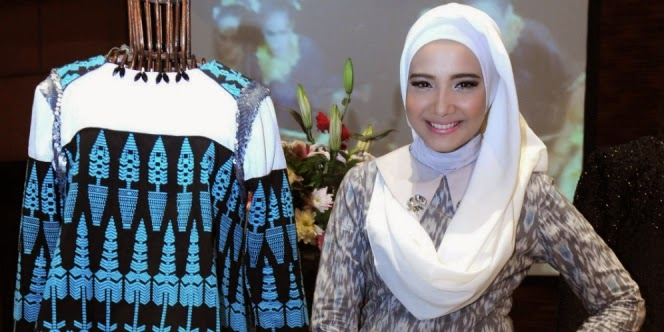 Zaskia Sungkar tampil di New York Fashion Week 2015