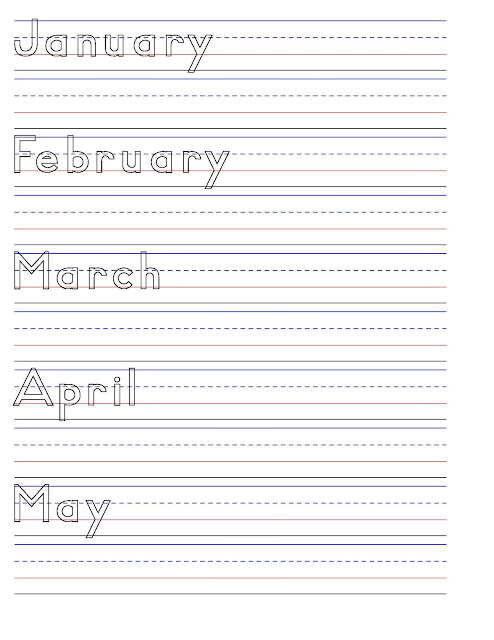 Make Your Own Handwriting Worksheets : Create handwriting worksheets printable free