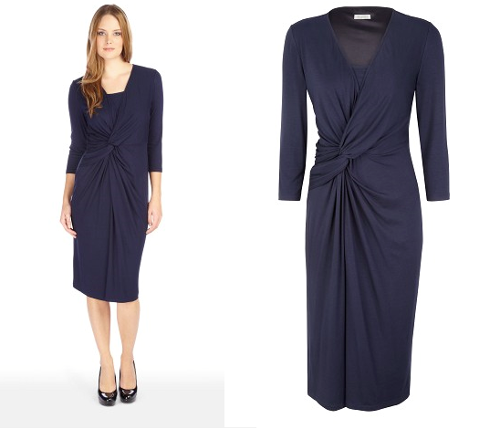 Planet Sale | www.planet.co.uk: Navy Wrap Dress on sale, our ...