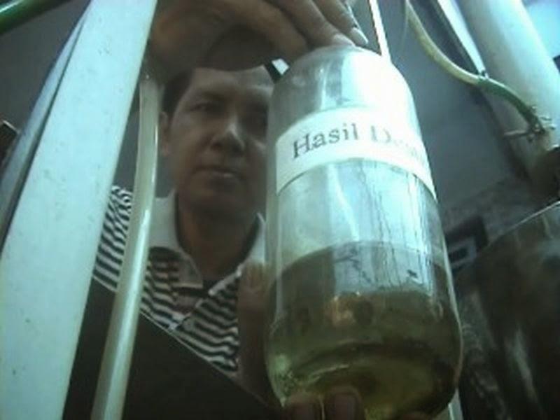 Bahan Bakar Minyak Sampah Organik