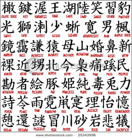 grandma in chinese writing