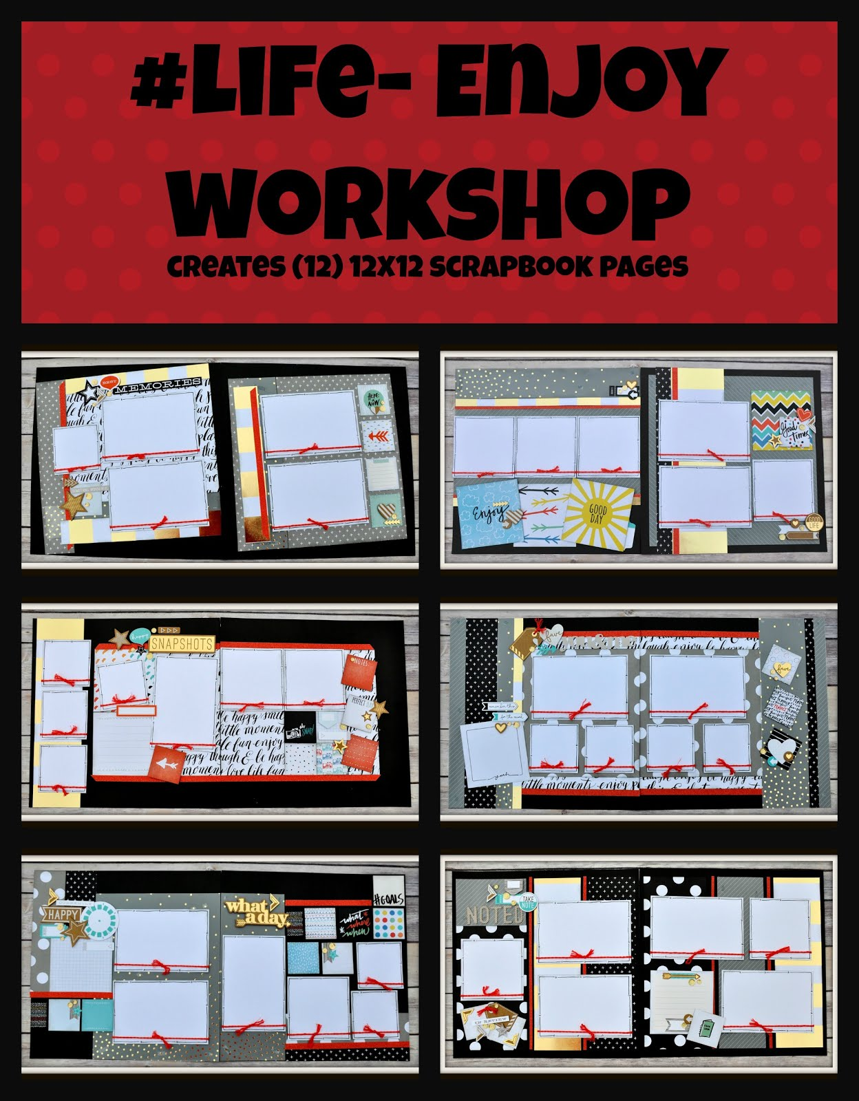 #Life-Enjoy Workshop Guide & e-files
