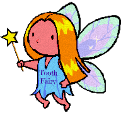 Toothfairy Free Clip Art cute with wand