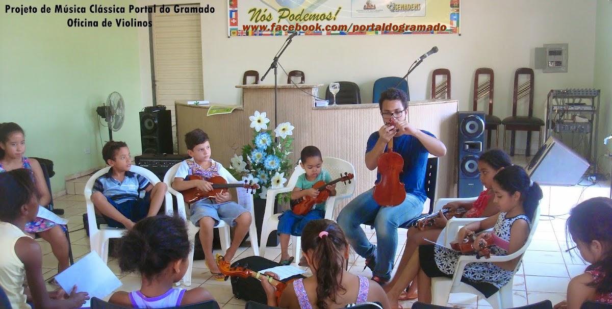 Nosso Projeto de Música Clássica