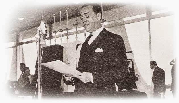 discurso na inauguração de Brasília