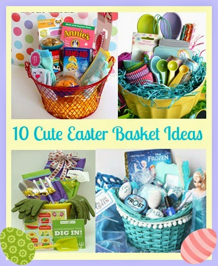 Thoughtful presence 10 ideas for the cutest easter baskets ever 10 ideas for the cutest easter baskets ever negle Images