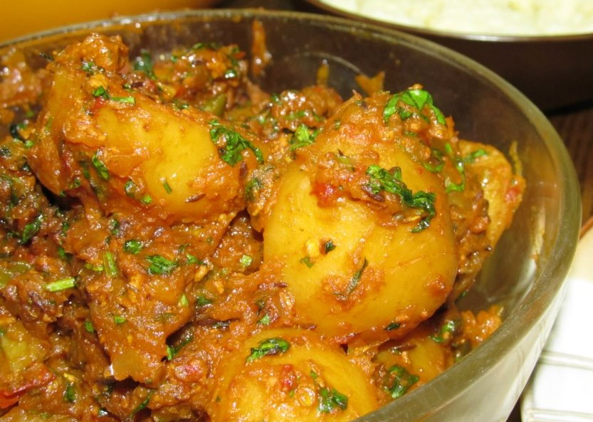 Dum Aloo or Dum Alu can be literally translated into pressure(Dum ...