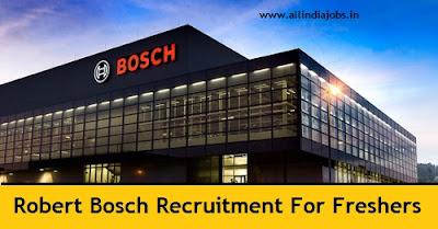 Robert Bosch Recruitment