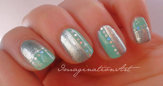 nail art tiffany chanel lattementa