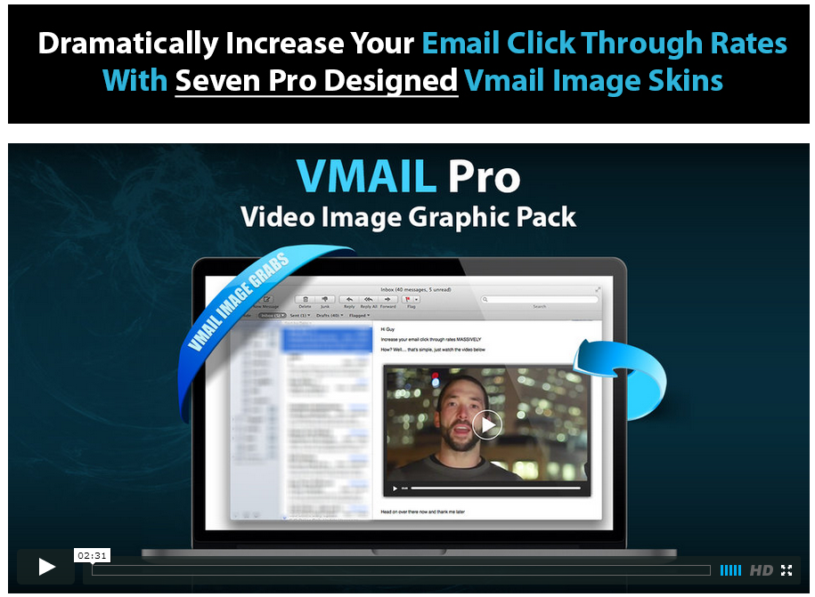 VMail Pro and Increase your email click through rates