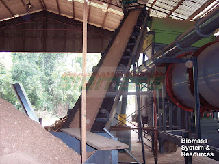 FEEDING SAWDUST TO DRYER